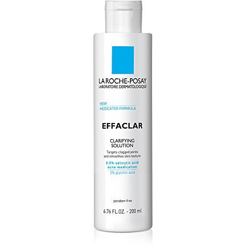 #La Roche-Posay #Effaclar #Clarifying #Solution #Facial #Toner for #Acne #Prone #Skin with #Salicylic #Acid & #Glycolic #Acid, 6.76 #Fl. #Oz. Gentle exfoliating #solution that penetrates deep to remove pore-clogging debris and smooth #skin texture Removes excess dirt and dead #skin cells to leave #skin feeling refreshed and even Tone daily for continuous results https://skincare.boutiquecloset.com/product/la-roche-posay-effaclar-clarifying-solution-facial-toner-for-acne-prone