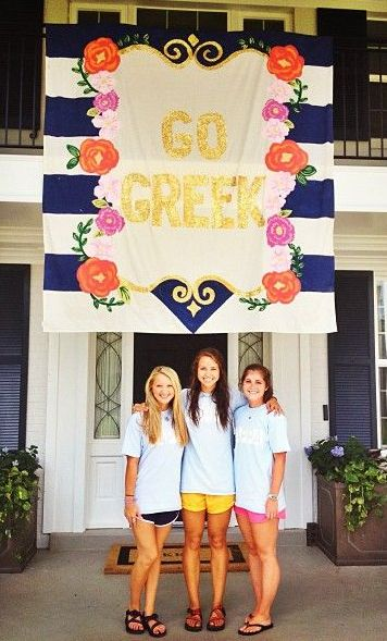 its all about going greek