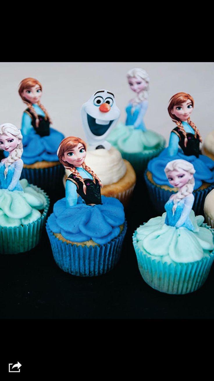 Etsy Frozen Cake Decorations : Best 25+ Frozen cupcake toppers ideas on Pinterest ...