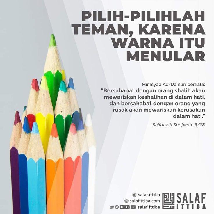 Pin oleh Tholabul Ilmi di Nasihat di 2020 | Sahabat, Teman ...
