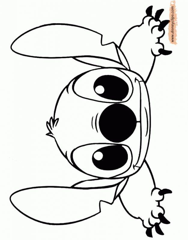 Stitch Para Colorear Dibujos Dibujos Faciles Dibujos De Estich