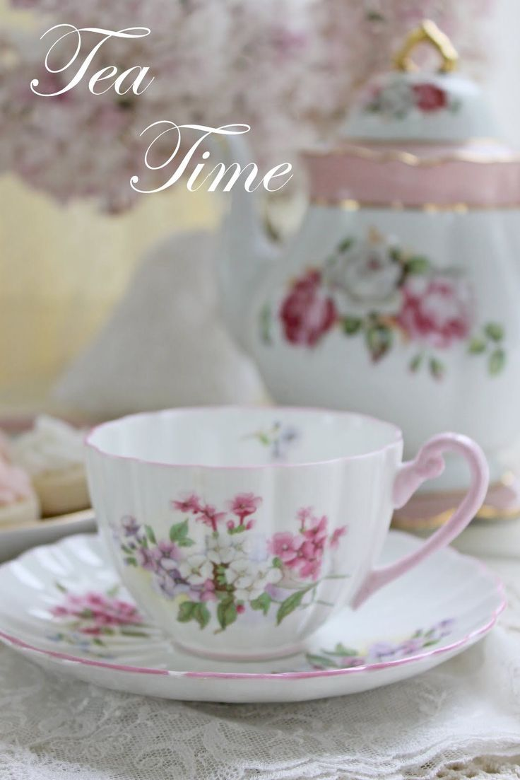 Royal albert bone china tea cup amp saucer winsome pattern ebay - Find This Pin And More On Ruthi Pretty Pink Floral Teacup And Saucer
