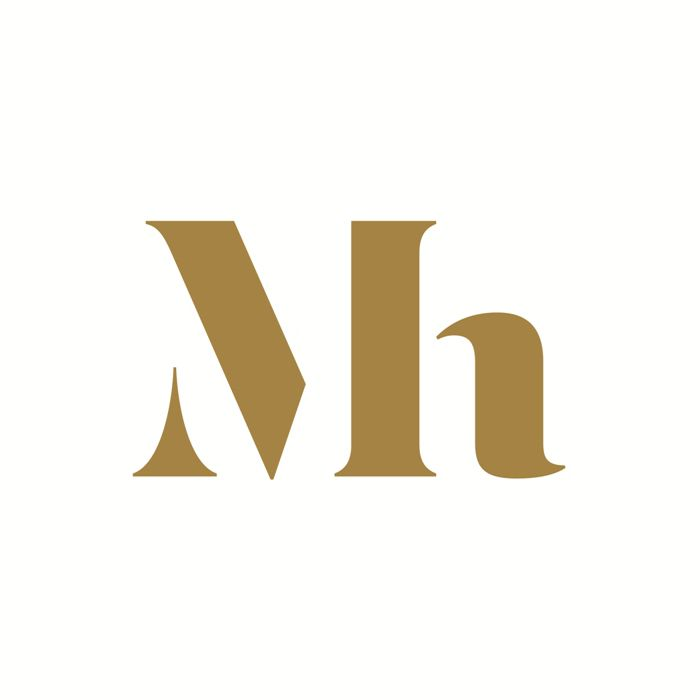 Monogram designed by Dumbar for art museum Mauritshuis.