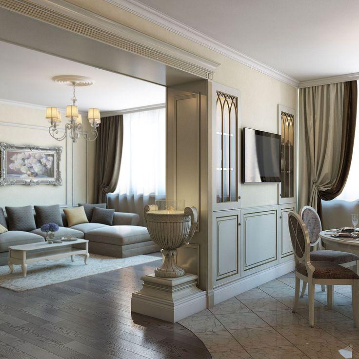 Легкая классика в киевских апартаментах