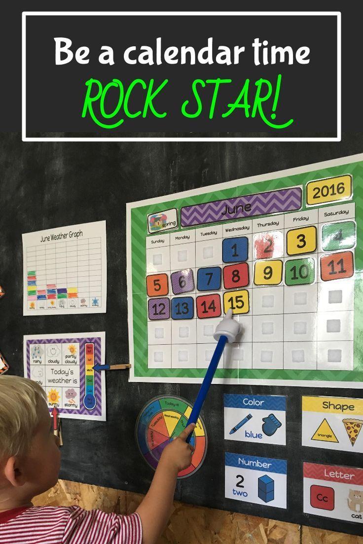 Interactive Calendar Ideas : Best preschool calendar time ideas on pinterest