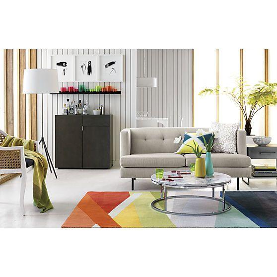Banded Color Stripe Rug | CB2 Good Ideas