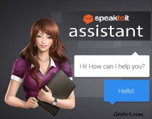 """Personal Assistant apps are often common in any Mobile devices irrespective of the operating system. Here is an App by name """"Speaktoit App"""" developed with an extraordinary feature where your activated voice is shown as screen avatar. Speaktoit App works on multiple platforms. Versions of the App vary accordingly with the platforms used. Read further for the Speaktoit App Features, interface, performance and verdict details."""