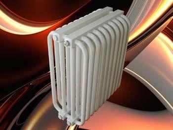 трубчатые радиаторы Радиаторы РС 4 Артикул: 4-300-8 Радиаторы отопления трубчатые классического дизайна обладают высокой надежностью при эксплуатации в реальных условиях российских систем отопления.