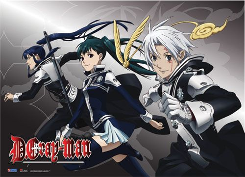 Static Fluff Anime Bring You This Awesome D Grayman Fabric Poster Check Us