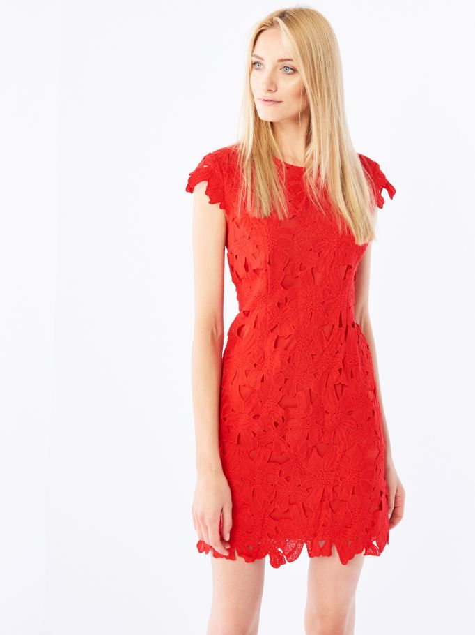 Sukienka z gipiury, MOHITO