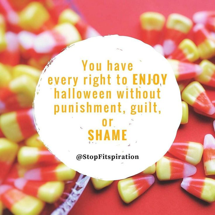 """I've been seeing so many images and articles making the rounds about how to """"make up for"""" / """"burn off"""" / or otherwise PUNISH yourself for Halloween indulgences. So here's a little TRUTH BOMB to start your week off: it's OKAY to eat candy. It's OKAY to enjoy Halloween. It's OKAY to indulge.  . . . . Since when did INDULGE become a bad word? indulge (verb): """"to allow oneself to enjoy the pleasure of."""" TRUTH: there is nothing wrong with experiencing pleasure. Moreover there is nothing wrong…"""