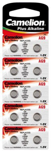 CAMELION pile plate aG9 alcaline 1,5 v, 10-sous blister: CAMELION pile plate aG9 alcaline 1,5 v, 10-sous blister Cet article CAMELION pile…