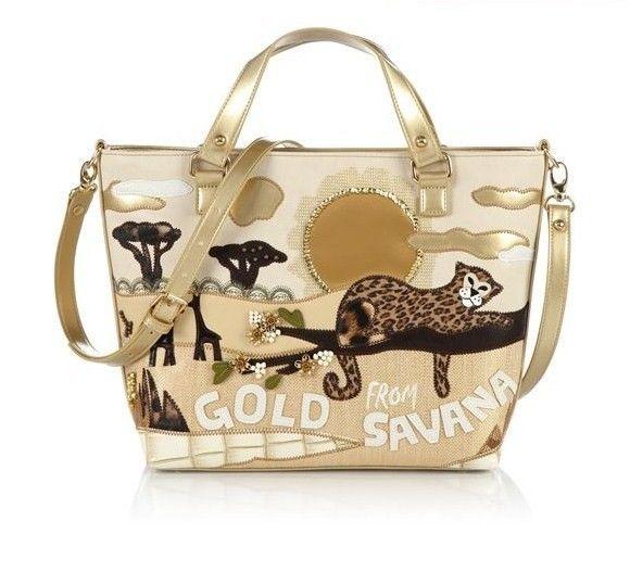 Handbag con stampa Savana | Collezione borse Braccialini Primavera Estate 2013