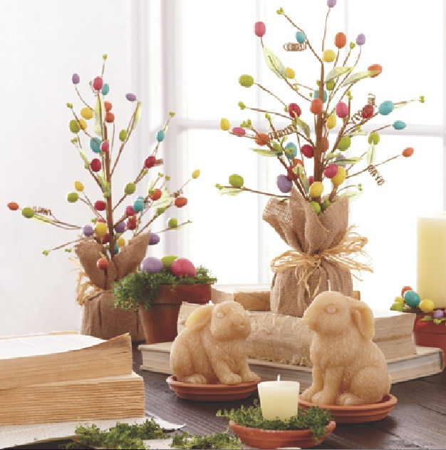 Easter Entertaining Inspiration And Easter Home Decor >>