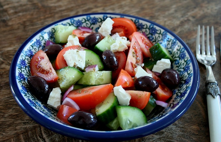 Griekse salade Sonja Bakker - Een recept van Madelon de Graan - Albert Heijn