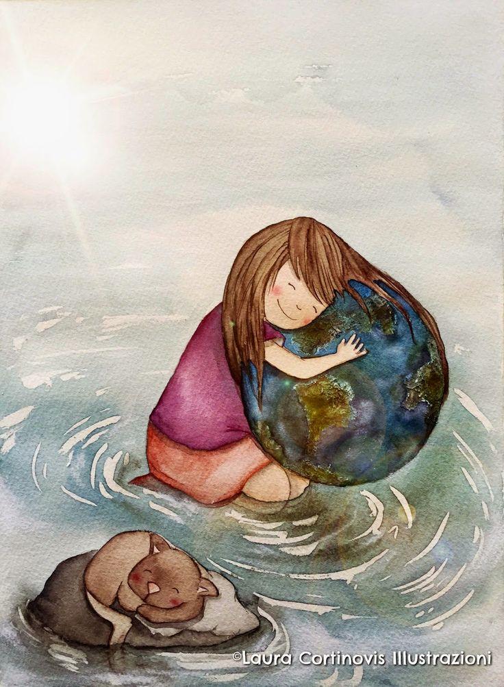 icoloridilaura: Come dipingere la Terra