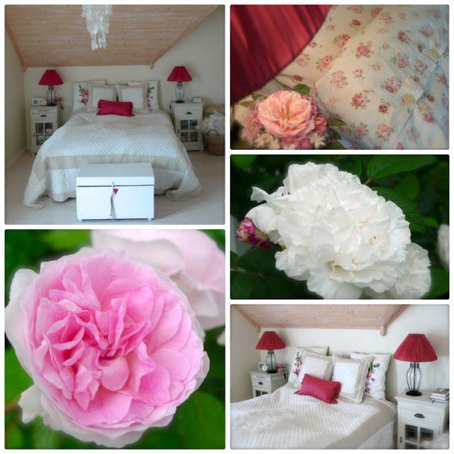 Villa Sunniva: Soverom med rosa kontraster