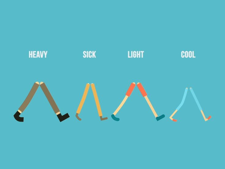 Walk Cycles by Oscar Pettersson #Walk_Cycles #GIF