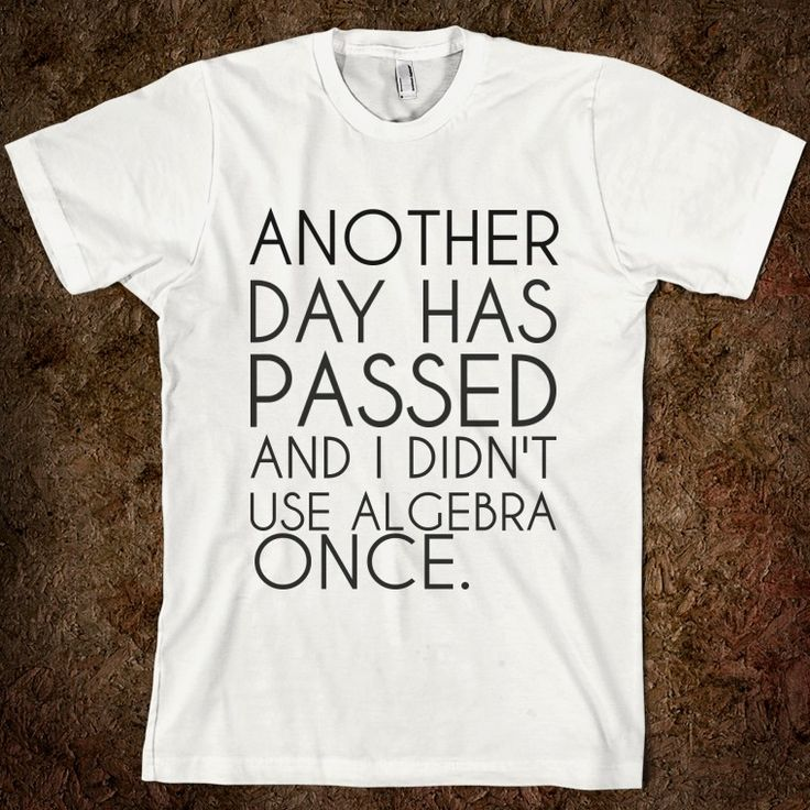 So true- I need this shirt