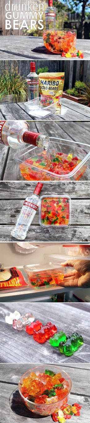 Bring this boozy bear to your next outing and score some great gummy points.
