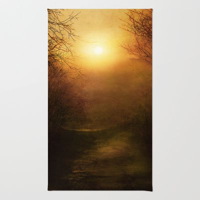 April Ethereal Rug by Viviana Gonzalez - $28.00