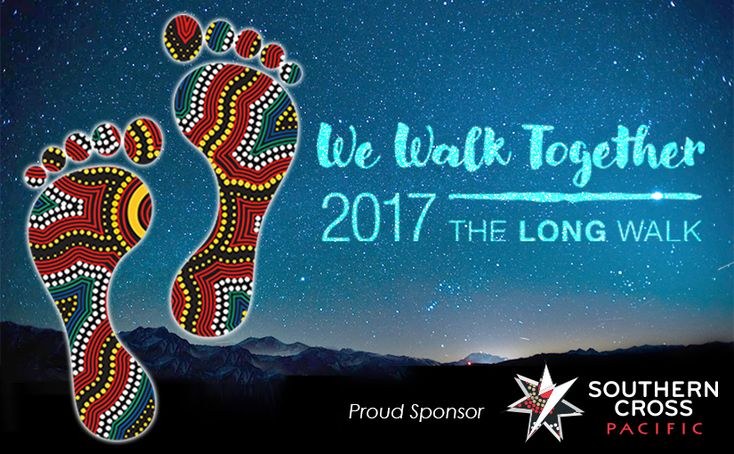 Southern Cross Pacific is a proud sponsor of The Long Walk 2017. We are committed to providing nationally recognised training and creating employment opportunities for Indigenous people throughout Australia, celebrating Michael Long's monumental journey and promoting the story of The Long Walk. #wewalktogether