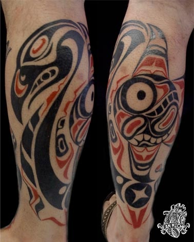 42 best haida tattoo ideas images on pinterest. Black Bedroom Furniture Sets. Home Design Ideas