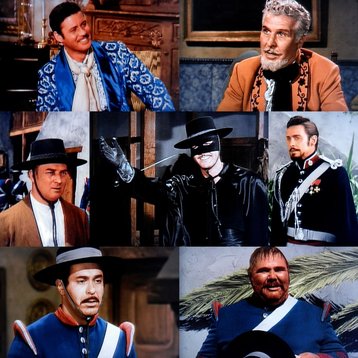 Disney Zorro (Guy Williams)
