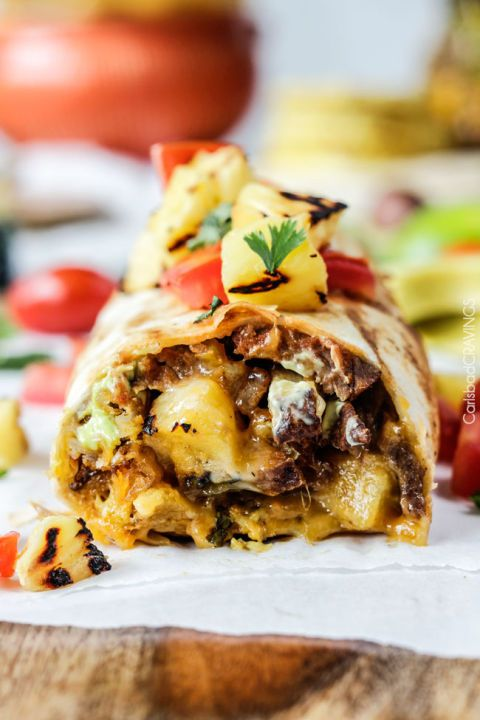 California Carne Asade Burrito The only reason you need to make this burrito is that it's stuffed with fries.
