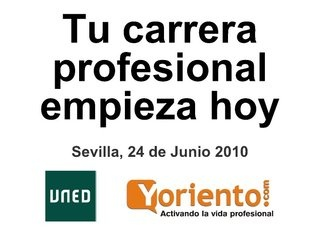 empleo-20-tu-carrera-profesional-empieza-hoy by Alfonso Alcántara via Slideshare