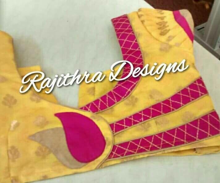 1000 best Simple Saree Blouse Patterns images on Pinterest   Blouse ...