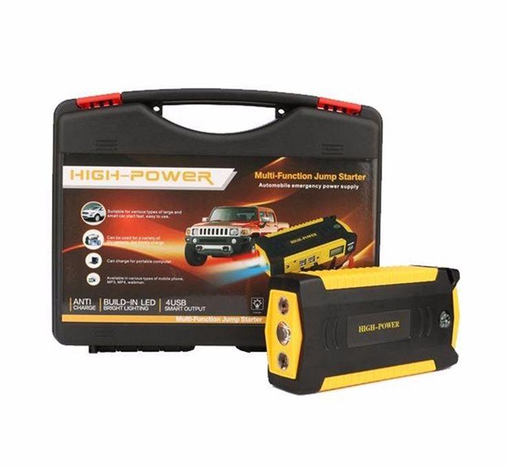 69800mAh Car Jump Starter Power Bank Backup Charger Multifunction Emergency