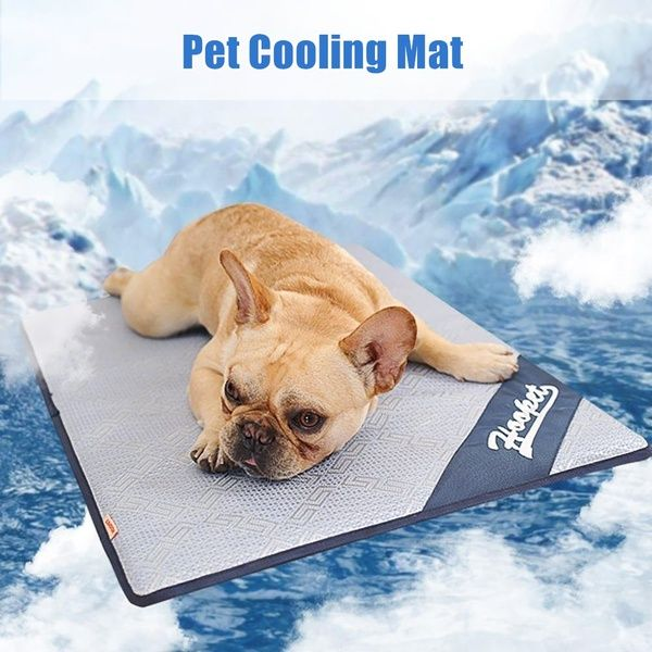 Summer Cooling Pad Mat Bed For Pet Dogs Cats Non Toxic Non