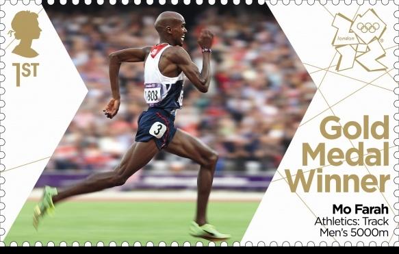 Team GB Gold Medal Winner Mo Farah Athletics: Track Men's 5000m