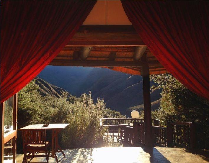 Mountain Lodge View