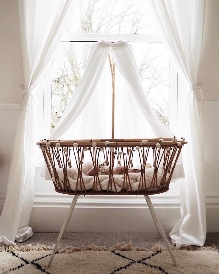 "1,203 Likes, 50 Comments - ❁ S A L L Y ❁ (@sallyfazeli) on Instagram: ""My little sleeping angel  This beautiful vintage crib is from @pamonodotcom and has travelled all…"""