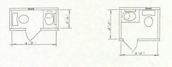 10 Best Ideas Small Bathroom Dimensions Best Interior