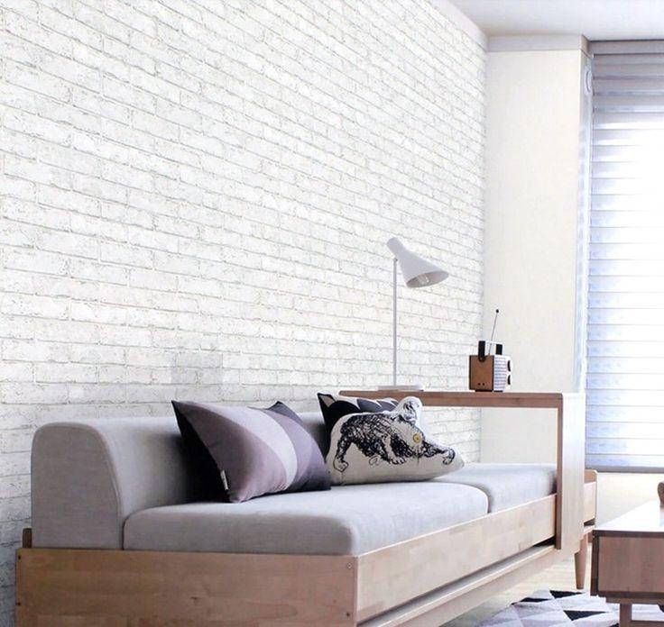 slaapkamer met steenbehang - Google zoeken