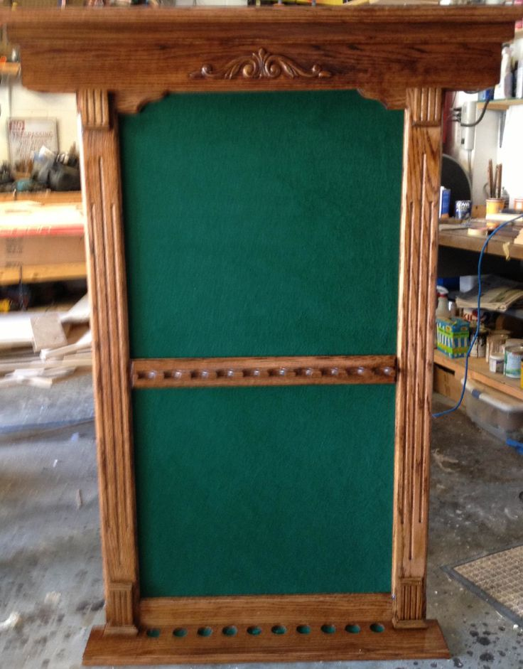 Cue stick rack custombuilt handcrafted for Cue rack plans