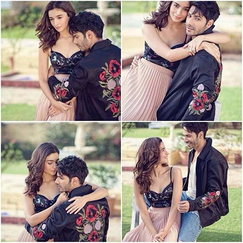 Alia Bhatt and Varun Dhawan on Filmfare