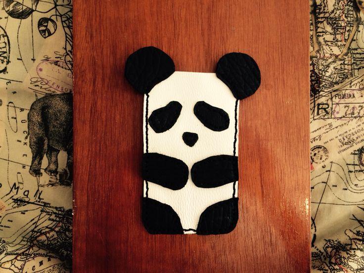Panda cellphone case. By Jenny South.