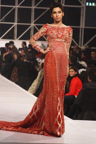 Faraz Manan Crescent Collection at APTMA Clothing Show 2013