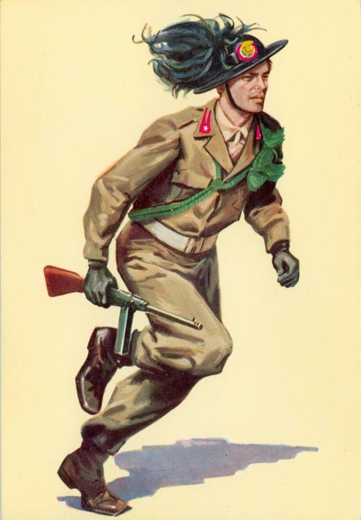 Esercito Italiano - Bersagliere, 1948