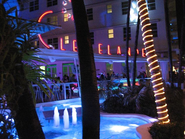 The Clevelander Hotel On South Beach In Miami