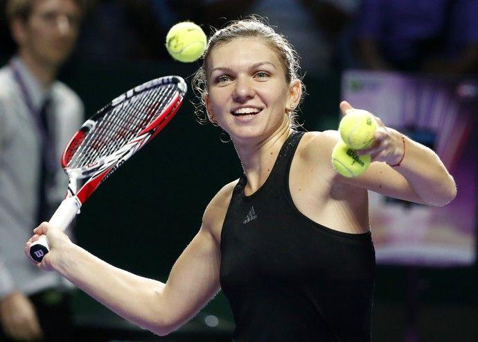 tenis simona halep wta finals (Foto: Reuters)