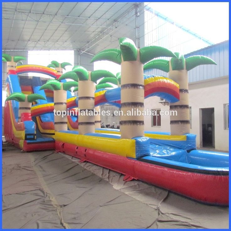 inflatable water slide with pool inflatable wet or dry slide with pool