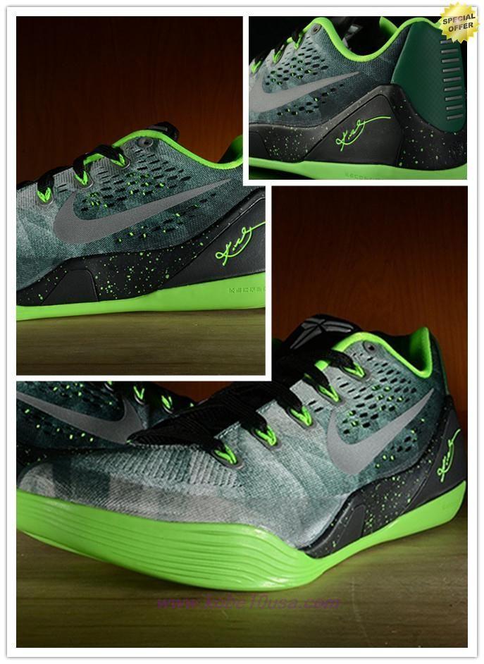 New Nike Kobe 9 EM Cheap sale Court Purple Pine Green 653972 003