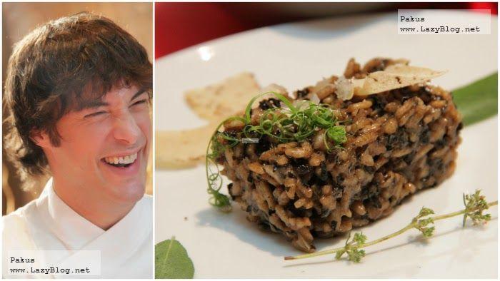 Lazy Blog: Receta de Risotto clásico con Jordi Cruz en el robot Cuisine Companion de Moulinex