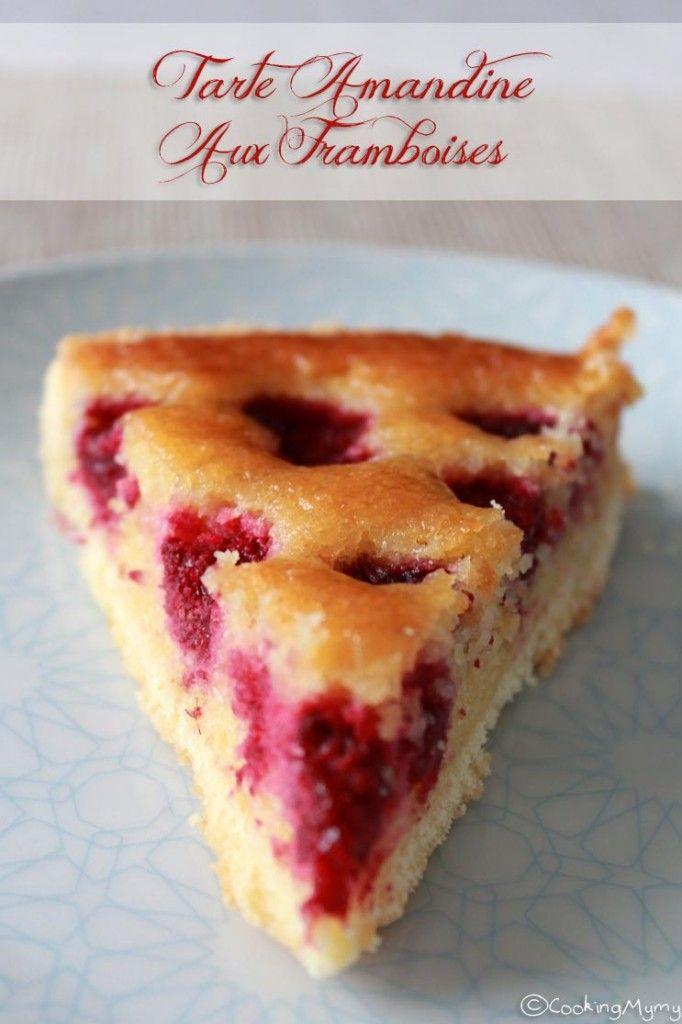 Recette de tarte amandine aux framboises pour la fête des pères - Imenager.com #fêtedespères #recette