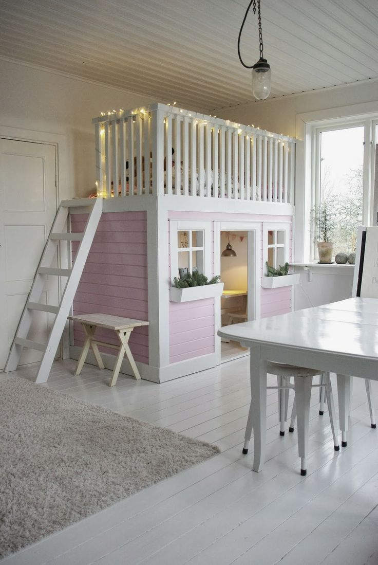 #wood #woodenfloor #kids #bedroom #white #pink #girl #interior #home